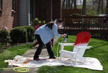 Painting Projects / Use your air compressor to paint your home, furniture, carpentry projects, crafts and more.