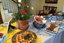 Spring entertaining is in the Air / Spring entertaining