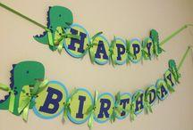 Doğum günü banner