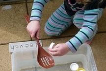 Water Table / Preschool, kindergarten, early elementary environment ideas.