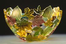 Glass and crystal objects