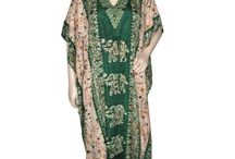 Womens Kaftans Designer Caftans / Kaftans are now designed as fashion items. They are designed to look fashionable and provide warmth while remaining breathable and comfortable. An ankle length open bodiced gown with long, wide sleeves. Usually made from a very lightweight fabric such as Cotton, wool or yarn, knitted or crocheted and silk. A long tunic worn in the Eastern Mediterranean; A long dress or shirt similar in style to those worn in the Eastern Mediterranean. In other words, A tunic that is tied at the waist by a strap;