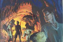 """Bob Morane / ♪ ♪ ♪ """"Egaré dans la vallée infernale, Le héros s'appelle ... Bob Morane"""" ♪ ♪ ♪ Et les dessinateurs s'appellent Dino Attanasio, Gérald Forton, William Vance, Coria et ... Pierre Joubert. Retrouvez quelques couvertures qu'il a réalisées."""
