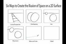 Art Ed - Art Element of Space / by Christopher Schneider