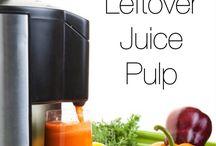 Juice and juicer pulp goodies