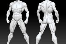 figure , modelli / by Titti Romano