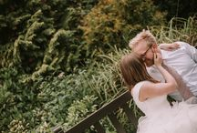 Lusina - Organic Bride & Groom / Nature love, whether a full on wedding in the middle of a forest or couples' portraits somewhere organic... I love incorporating nature in the weddings I capture and working with couples who appreciate it!