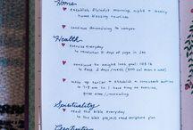 Journals & Vision Boards