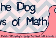 Middle School Math Blogs / Pins to blogs primarily about teaching middle school (grades 5 - 8) math.