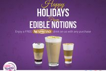 Offers from Edible Notions / Amazing Offers from Edible Notions!