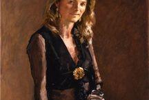 Portraits of beautiful women