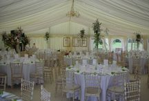 "Marquee interior decoration / Who said marquees were just a ""tent in a field"". Gorgeous marquee interiors..."