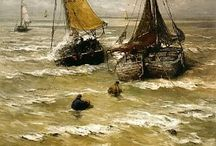 Hendrik Willem Mesdag / On this board you will find products of Art Unlimited with work of Hendrik WIllem Mesdag