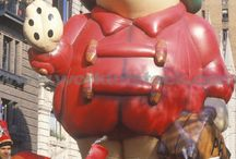 Macy's Thanksgiving Day Parade / Not only is November is notorious for Thanksgiving but who can resist the Macy's Thanksgiving Day Parade! Take a walk down memory lane and look at floats from Thanksgiving's past!