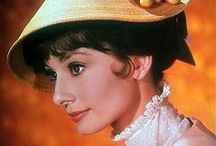 Audrey Hepburn / One of my favorite actress of all time.