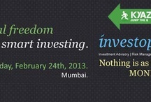 KyaZoonga.com: Get Financial Freedom through Smart Investing / Venue: Country Club A / 723, Opp Kia Park, Veera Desai Road, Prathmesh Complex Andheri West, Mumbai, Maharashtra Date: Feb 24, 2013 Day: Sunday Time: 14:00 to 18:00  Get Financial Freedom through Smart Investing. Learn about financial strategy at this financial planning workshop in Mumbai. Get Financial Coaching at this financial workshop. Learn all about money management and wealth building. Buy tickets at KyaZoonga!