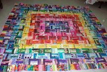 Quilt / My quilt I have had for the last 18 years that my mum and sister made me has developed a hole or two and mum said I have to get a new one!   So now I have to make it myself as it is something I want to say I did!