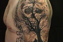 Tree arm tattoos