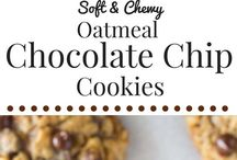 Soft and chewy choc chip cookies