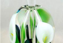 perfume bottles / modern