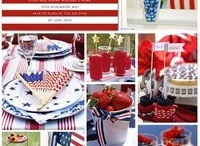 Fourth of July/Patriotic themes / by Sheila Bowman