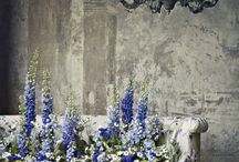 Floral art installations