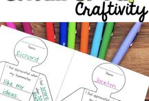Getting to know you small group craft activity