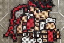 Hama Beads Street Fighter