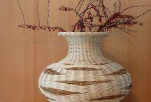 vázy z papíru