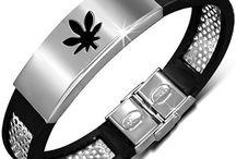 Zense - Bracelets en acier pour homme