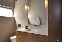 upstairs bathroom remodel / by Timmi Keeton-Ritzman