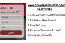 Showcase Me Online / www.showcasemeonline.com