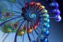 kaleidoscope / fractals and kaleidoscope