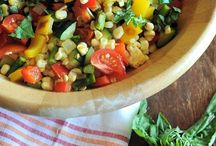 Summer Produce recipe ideas / Recipes featuring in season fruits and vegetables from summer harvests