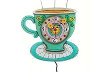 Unusual stylish art clocks / A fantastic collection of unusual art clocks