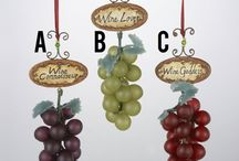 Wine and Beer Ornaments