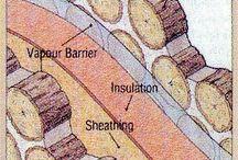 подпорная стенка из чурбаков