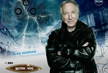 alan rickman / Dr. Who? Why not?