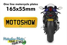 Motorcycle number plates sizes on bikes / Dear all,  in this board you can see how will look different plate sizes on your bike;-)