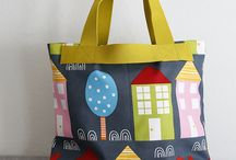 cloth bag / purse tutes & inspiration / sewing bags and purses using modern fabric and quilting techniques - patterns and tutorials