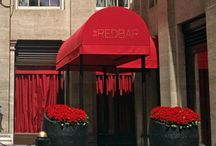 Awnings for restaurants and hotels