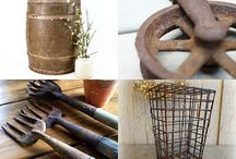 """Thanks for the Treasuries... / or, memories, as the song goes.  Items from The Well Seasoned Nest on Etsy that have been chosen for inclusion in themed, curated """"Treasuries"""""""