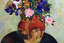 Цветы в живописи /  Flowers  in art
