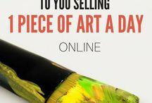 sell art