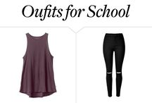 Outfits to school?