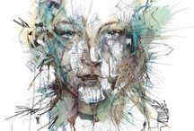 illustrations and art