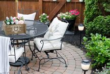Patio and Backyard Ideas & Inspirations / Get out and make that backyard beautiful.