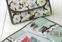 Sewing Bags, Totes, Purses, Wallets, Boxes, Bins / Sewing things to organize both at home and on the go.