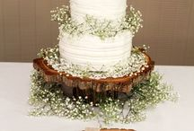 Wedding cakes and stands