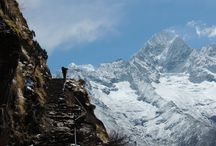 Nepal / The Himalayas are unforgettably beautiful.